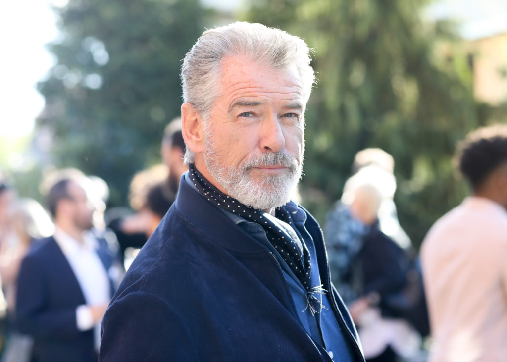 Pierce Brosnan at the Pioneer Works Village Fete. Photo courtesy of BFA.