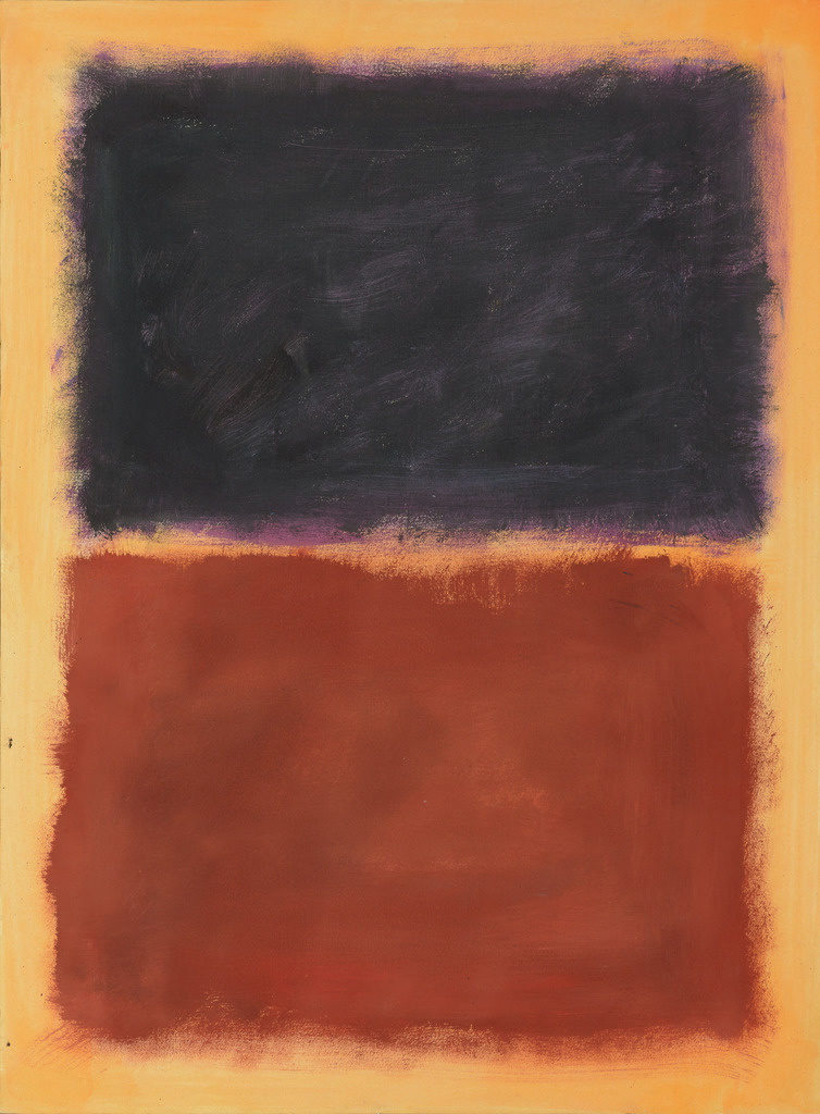 This work, purported to be by Mark Rothko, was forged and sold as authentic by the Knoedler Gallery. Courtesy of Luke Nikas/the Winterthur Museum.