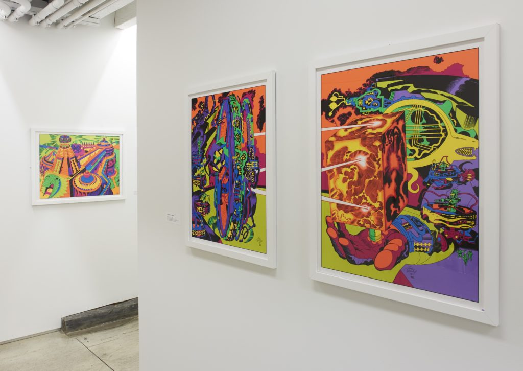 "Installation view of ""As If: Alternative Histories From Then to Now,"" 2019, at the Drawing Center, New York. Courtesy of the Drawing Center."