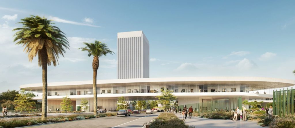 LACMA rendering by Atelier Peter Zumthor & Partner / The Boundary. Courtesy of Building LACMA.