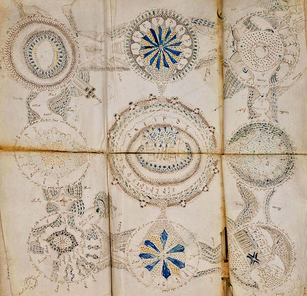 The Voynich Manuscript is considered by scholars to be most interesting and mysterious document ever found. Dated 16th century. Photo by: Universal History Archive/UIG via Getty images.