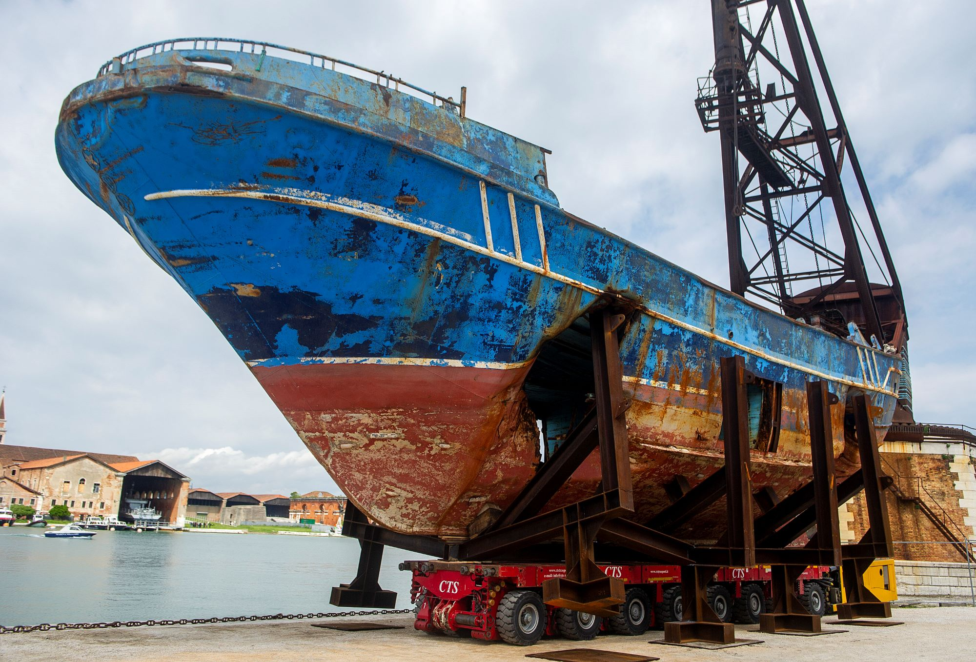 'Absolutely Vile' or 'Powerful'? Christoph Buchel's Migrant Boat Is the Most Divisive Work at the Venice Biennale