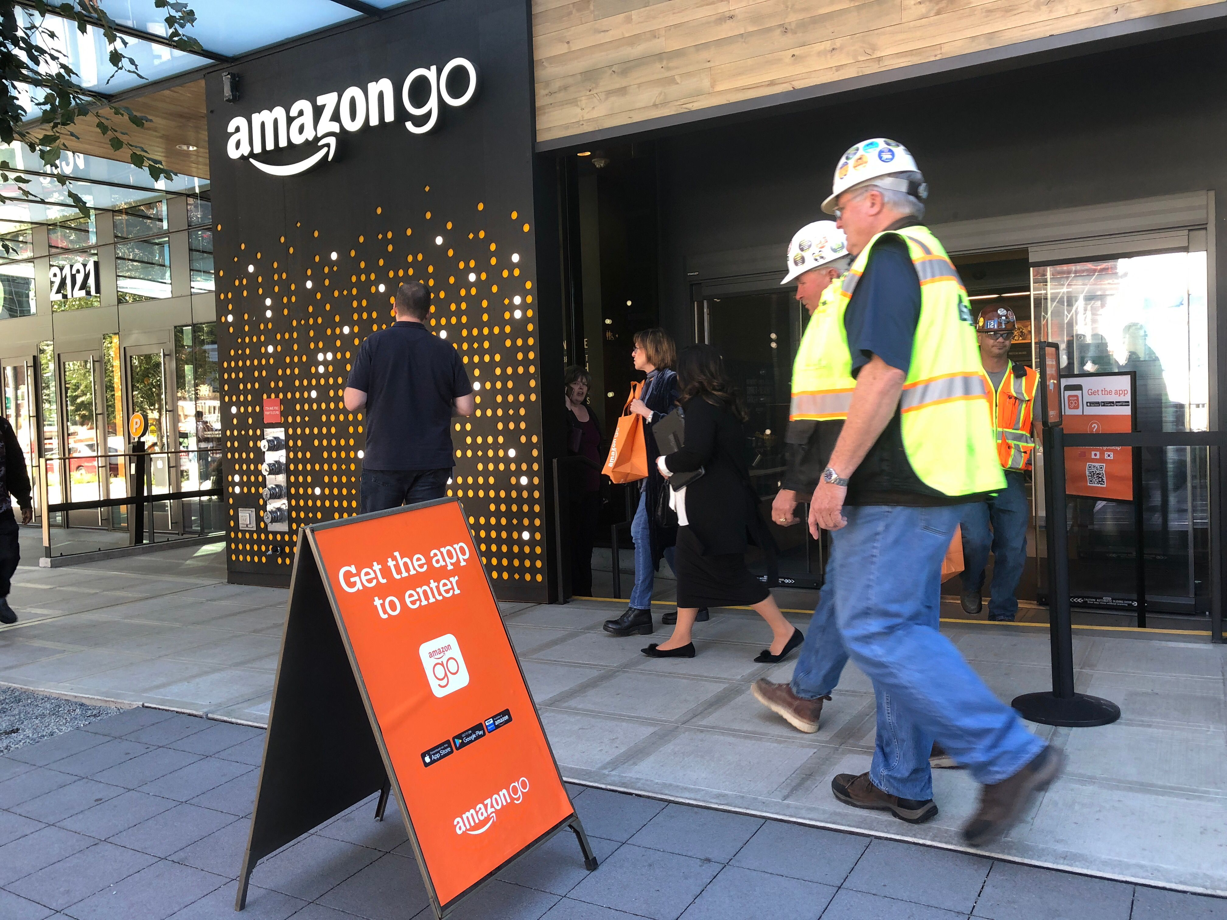 Amazon to open first Amazon Go store that accepts cash