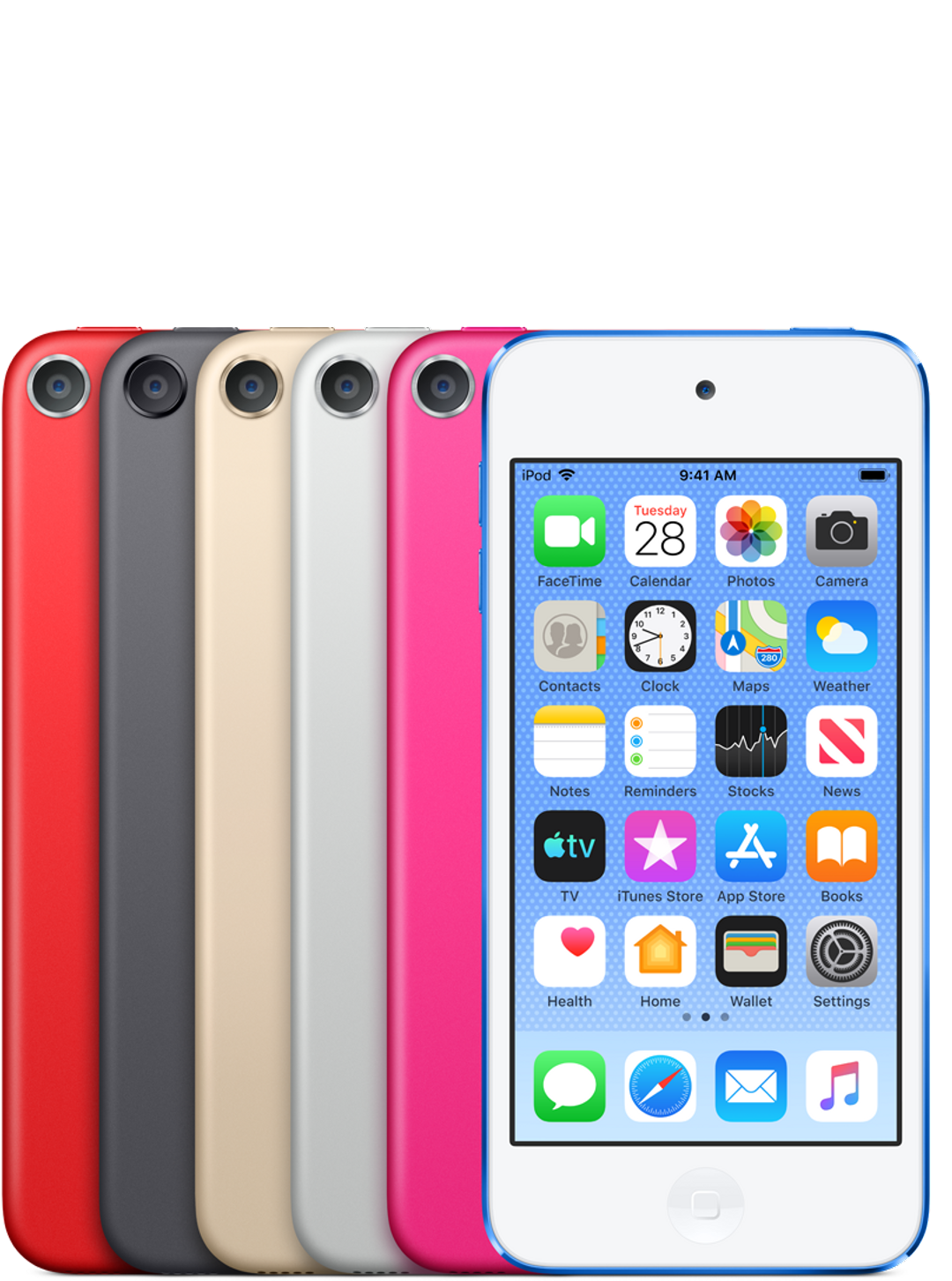 Apple's new iPod Touch updated to include FaceTime, AR and more.