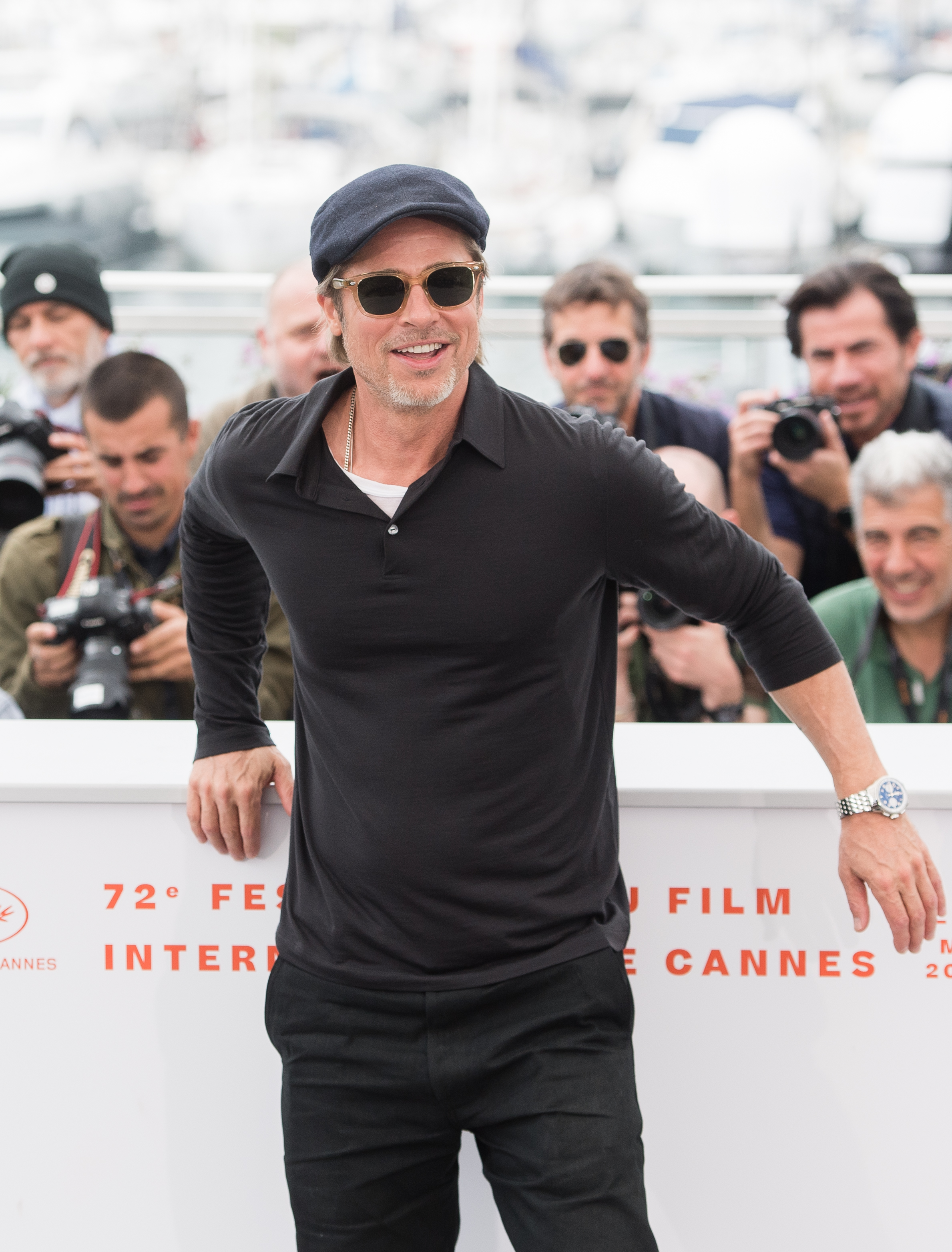 Brad Pitt Hits the Venice Biennale on the Way Back From Cannes + Other Stories