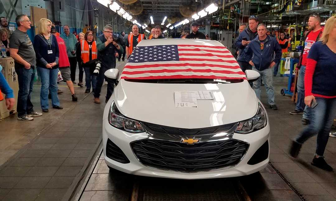 GM to sell Lordstown, Ohio plant to Workhorse Group