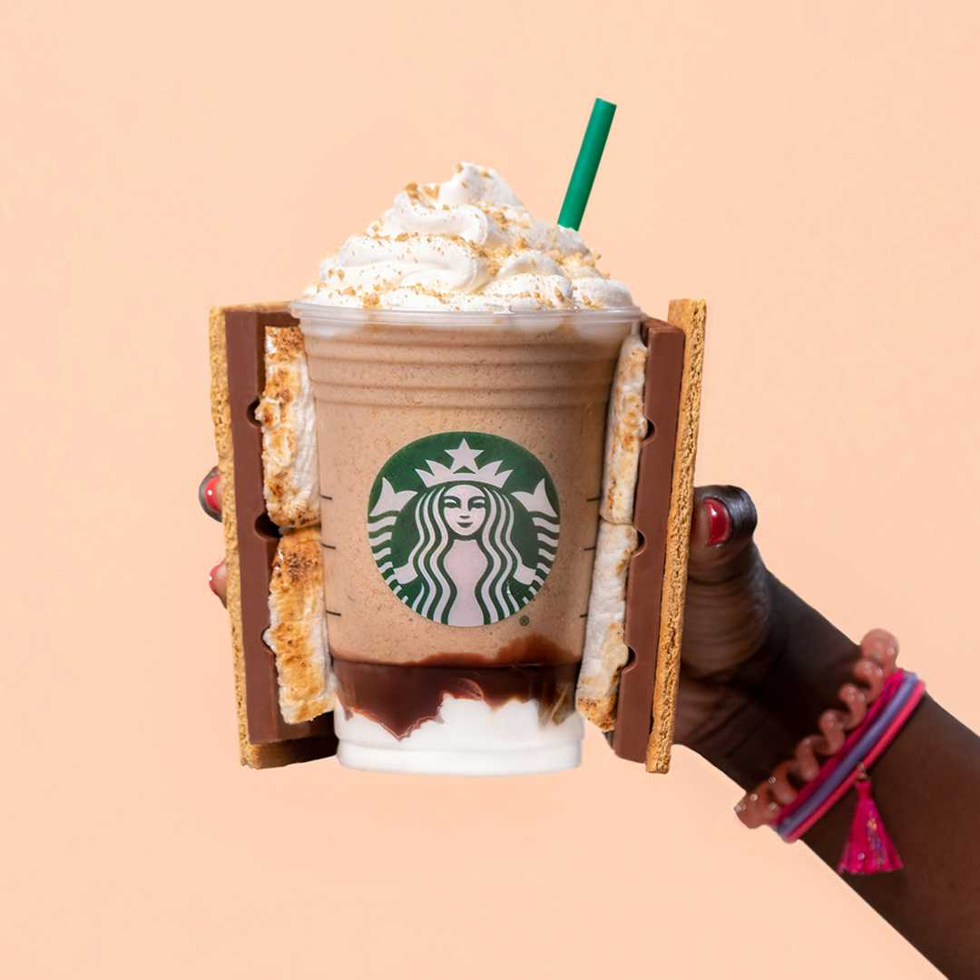 Get 50% off Frappuccino drinks Thursday