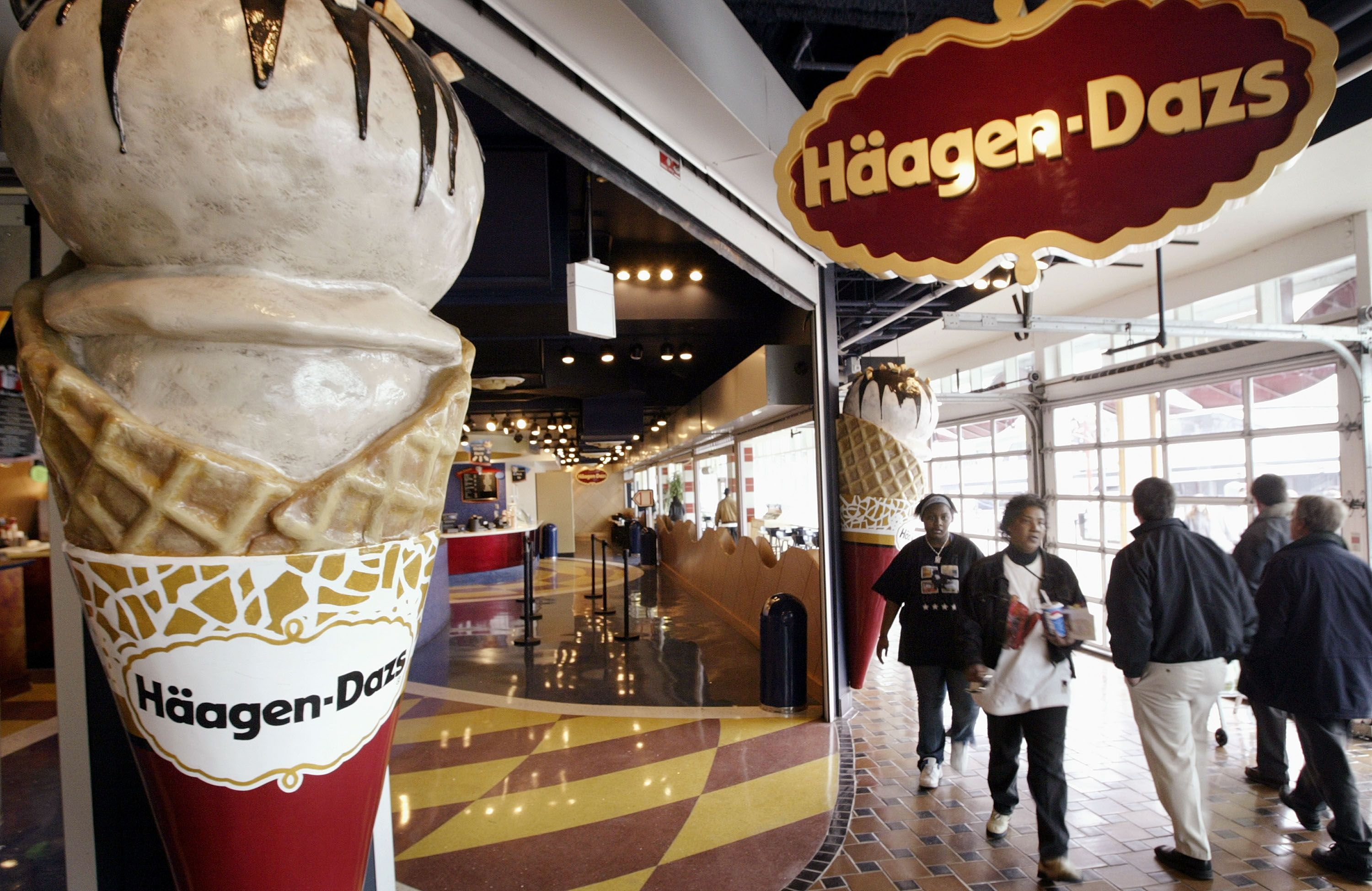 Häagen-Dazs' Free Cone Day is today