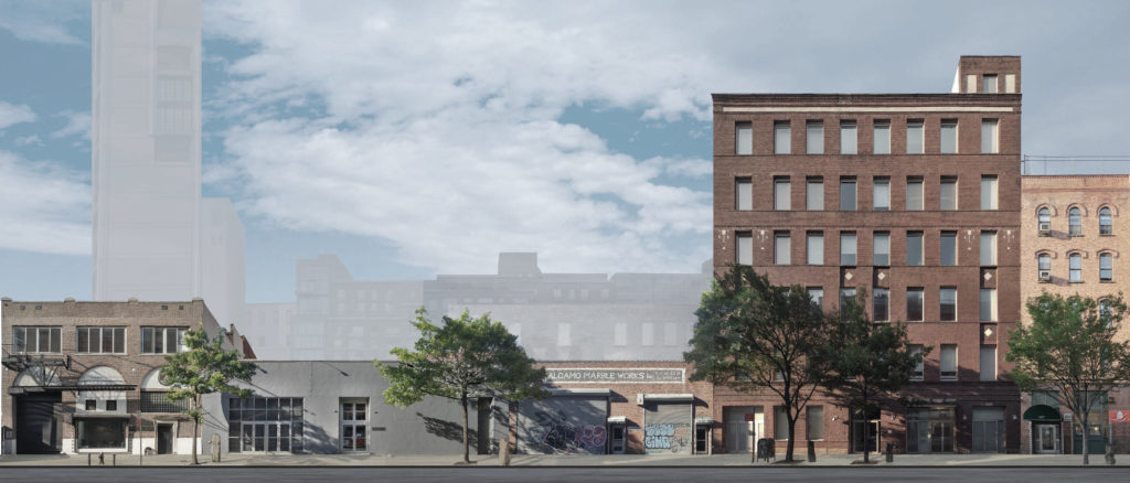 A rendering of the future Dia:Chelsea location. Image courtesy of the Dia Art Foundation.