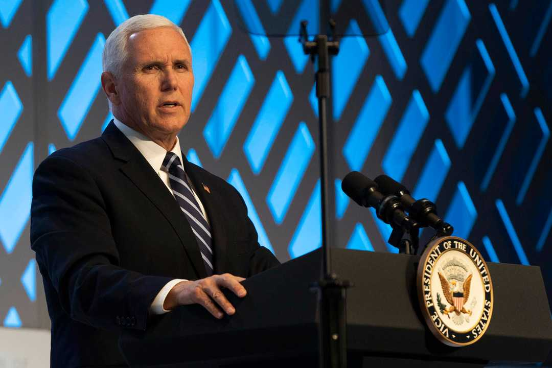 Mike Pence urges Fed to lower rates after Moore, Herman Cain withdraw