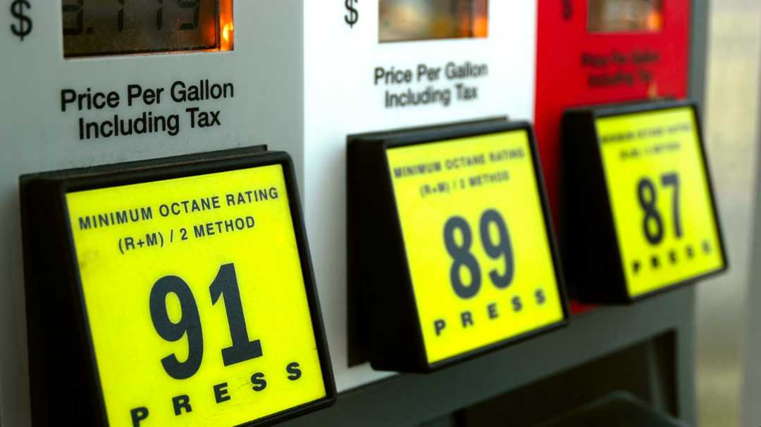 Most expensive states for fuel during Memorial Day