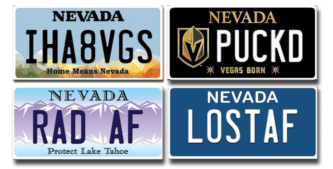 Nevada rejected more than 1,000 vanity plates last year. Here's why