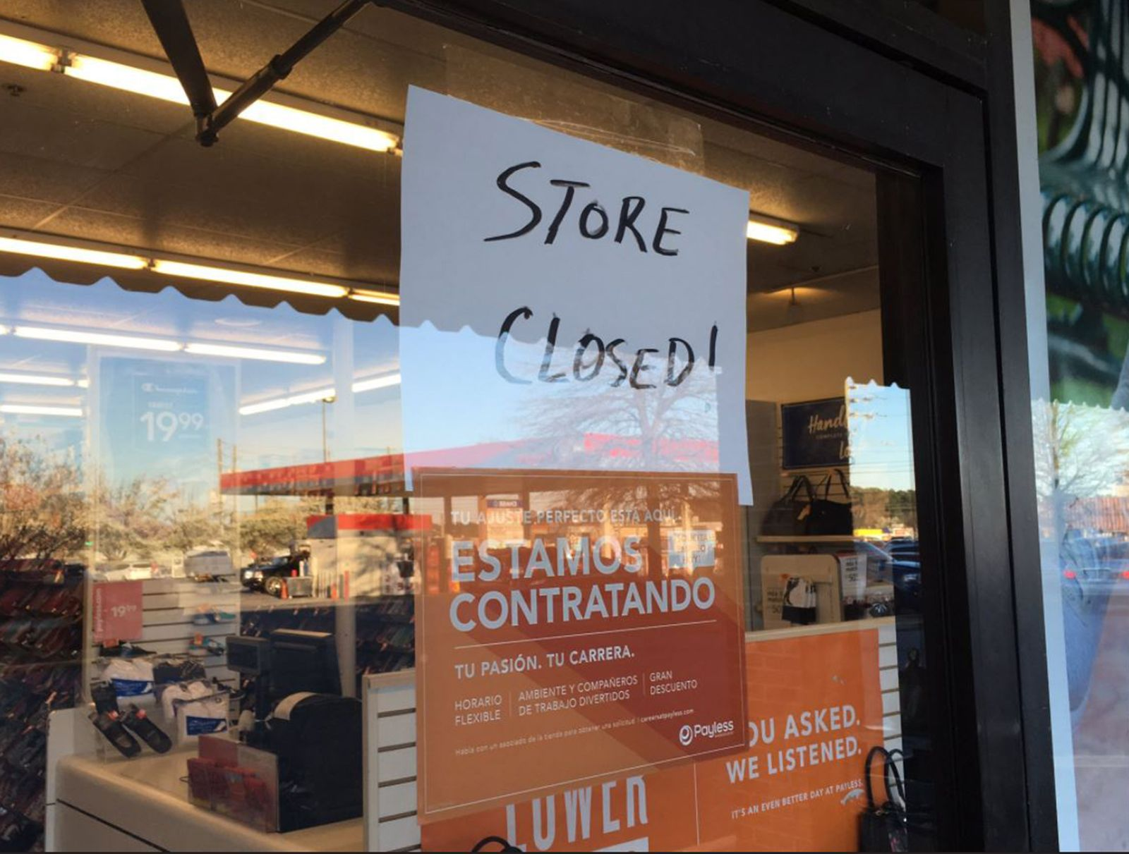 Payless, Gymboree, Foot Locker shuttering stores