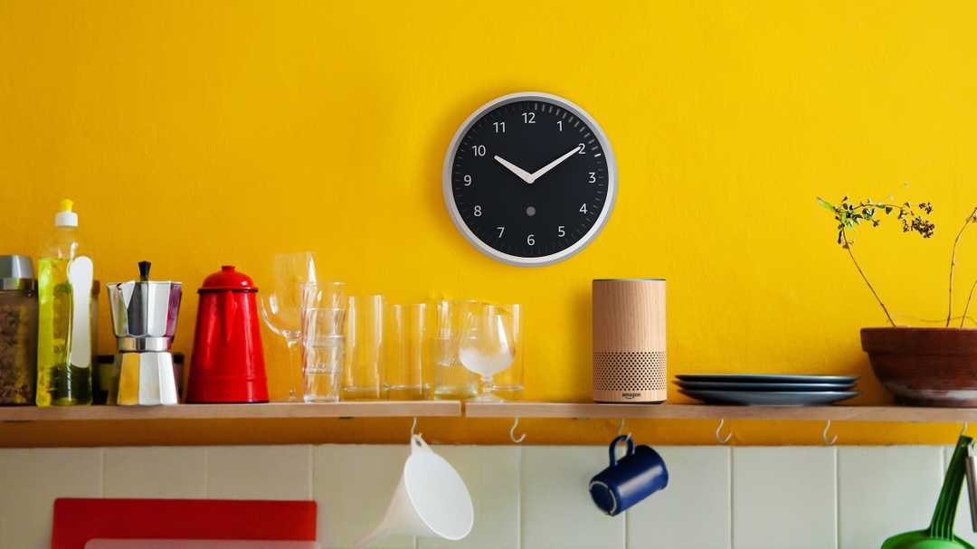 The Amazon Echo Wall Clock is back in stock—and it's on sale for the first time