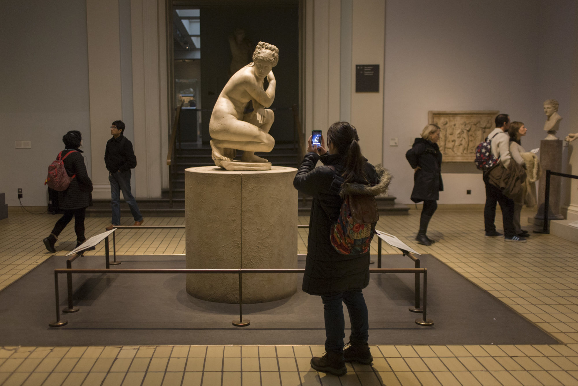 The Real Reason Why People Are Incapable of Not Touching Statues' Butts in Museums + Other Stories