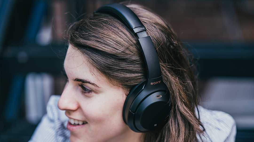The Sony WH-1000XM3 noise-canceling headphones are on sale for the first time ever
