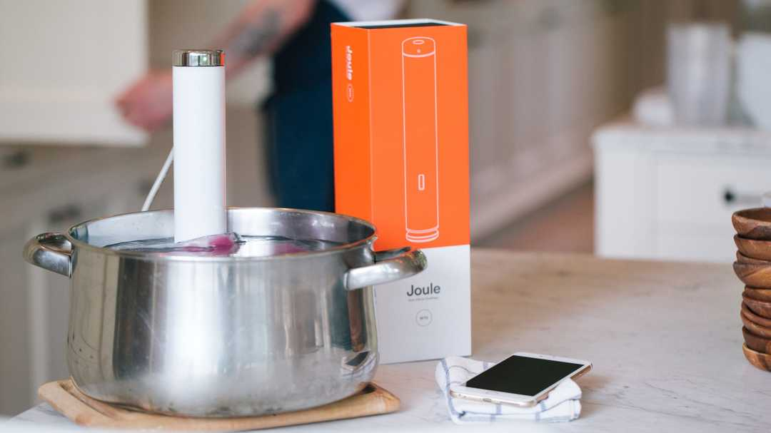 The award-winning ChefSteps Joule sous vide cooker is back at its Black Friday price