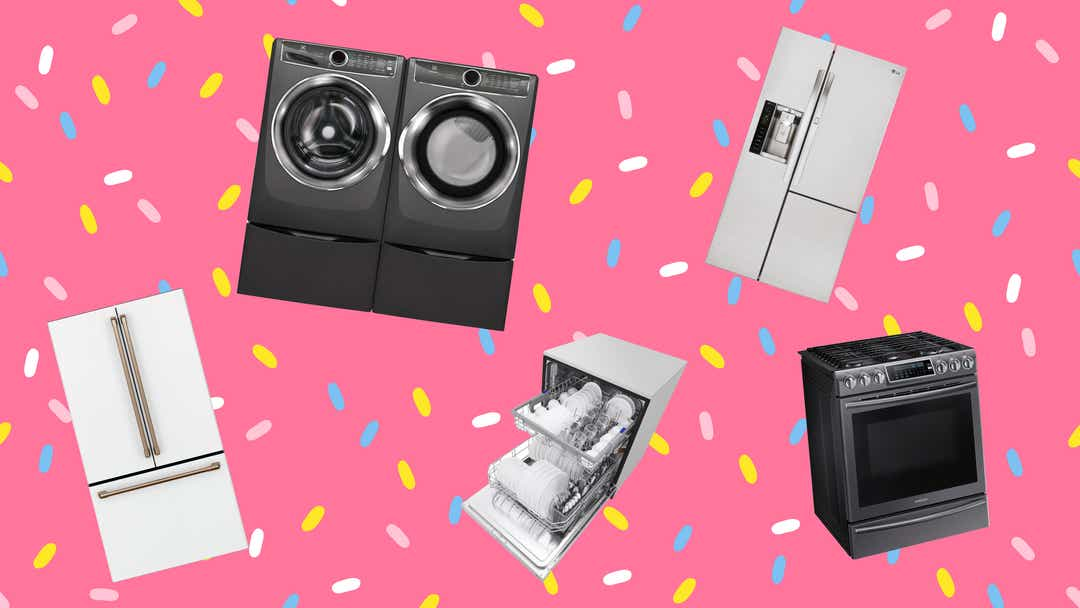 The best appliance deals and sales from The Home Depot, Lowe's, and more