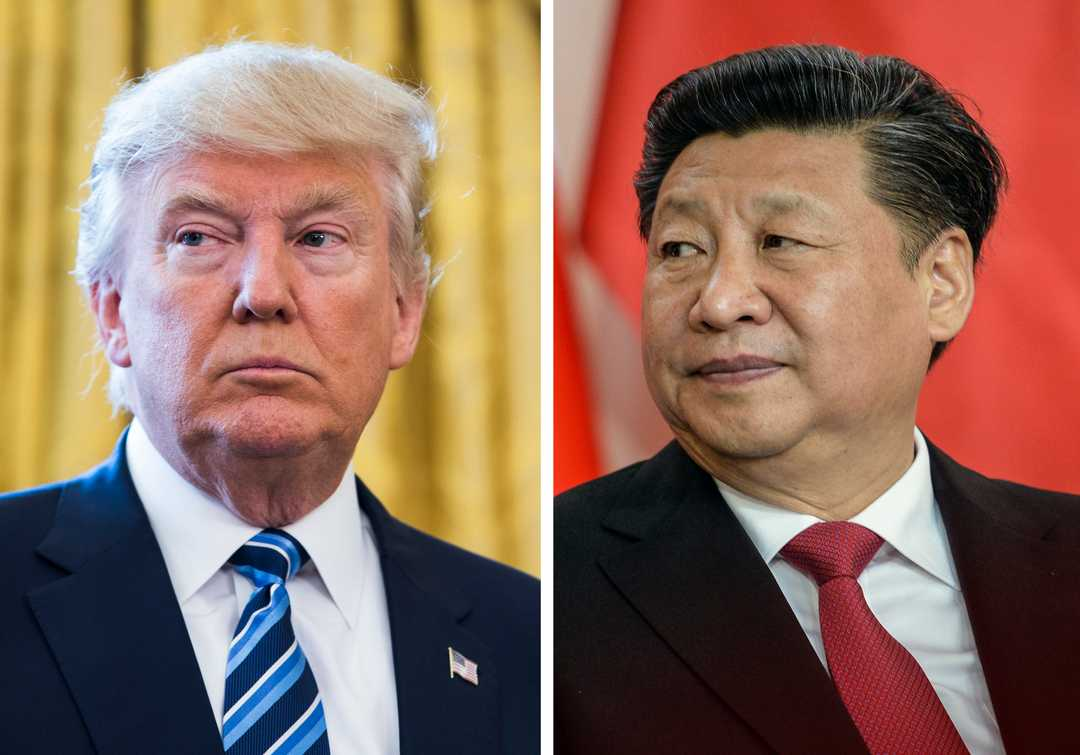 Trump calls fight with China 'a little squabble'