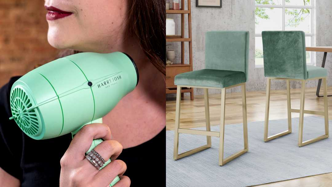 Ulta hair care, Houzz bar stools, Harry Josh, and more
