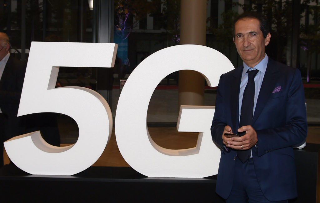 Telecom and Media group Altice founder Patrick Drahi attends the inauguration of the Altice Campus in Paris on October 9, 2018. (ERIC PIERMONT/AFP/Getty Images)