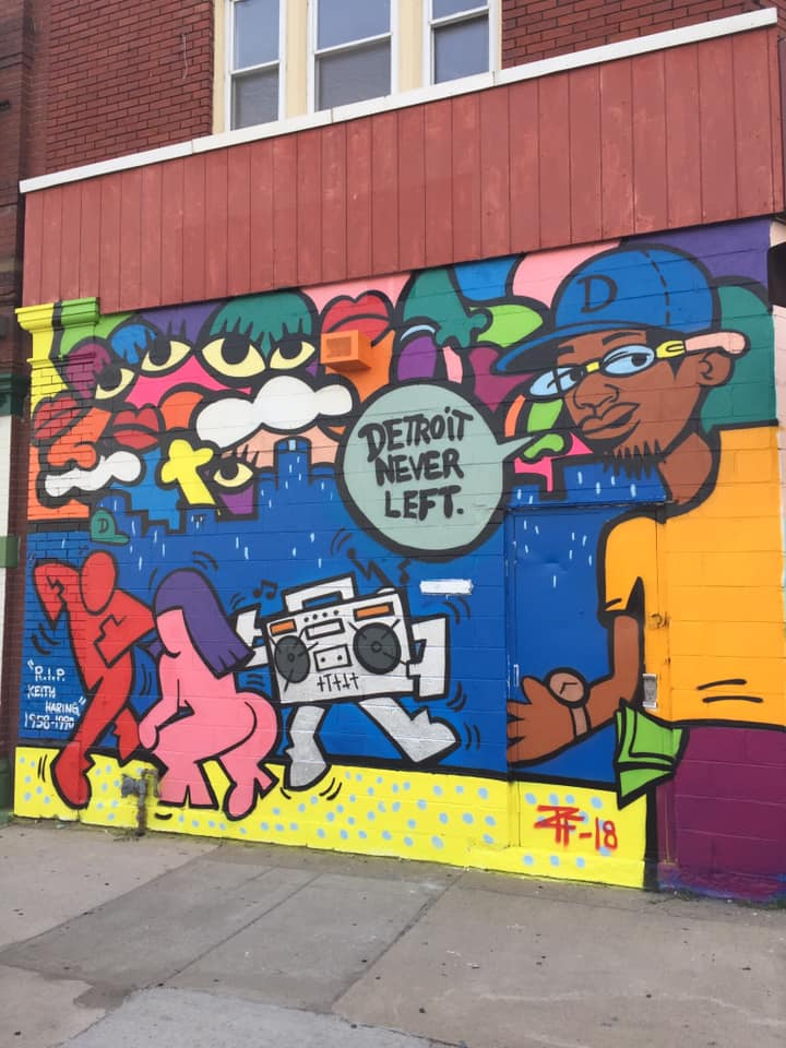 One of McFly's murals in Detroit. Courtesy of the artist.