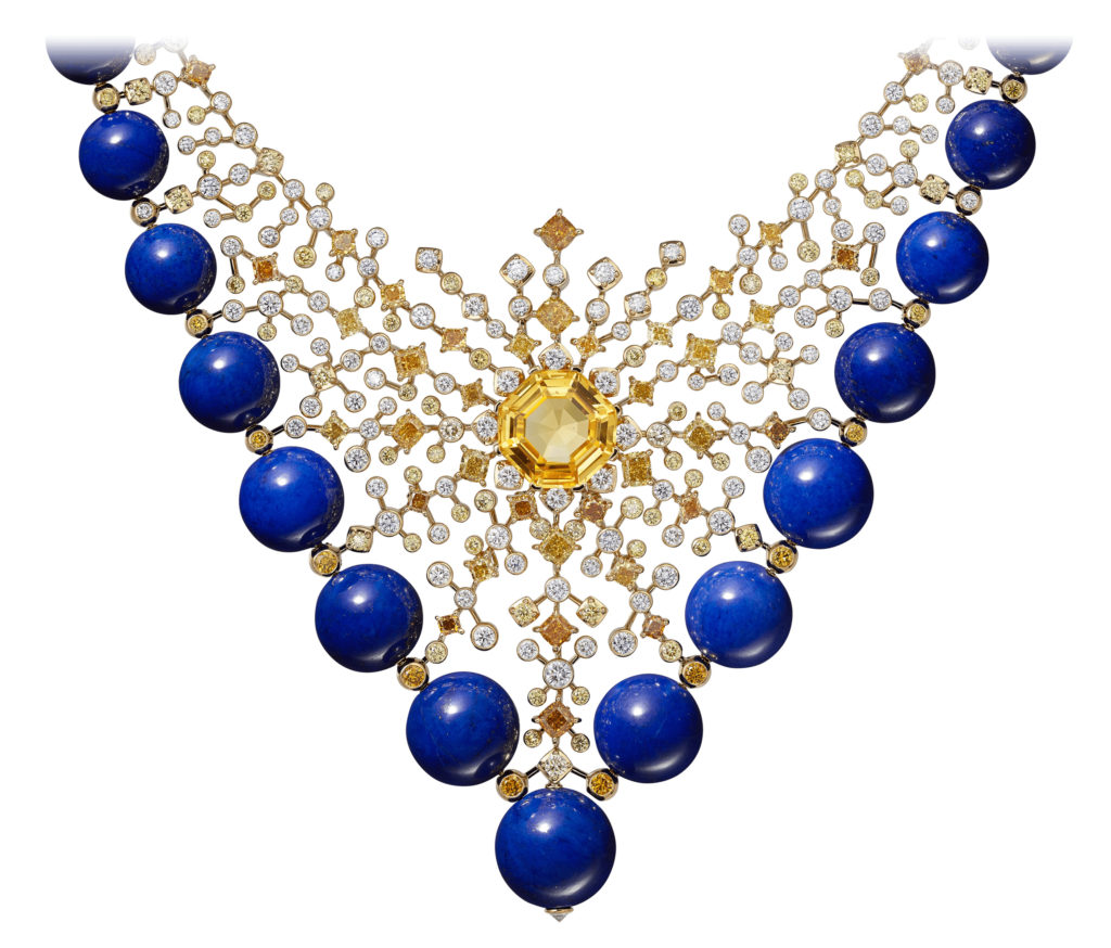 Cartier Magnitude's Equinoxe necklace. Photo courtesy Cartier.