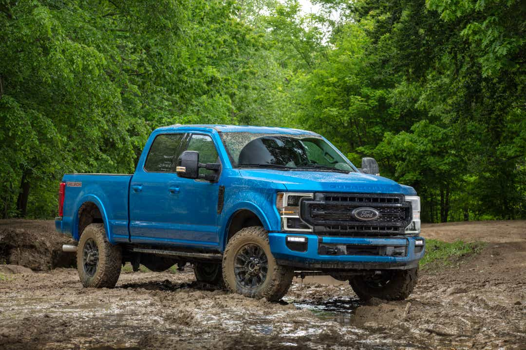 2020 Ford F-250 and 350 Tremor trucks boast lift kit, rock-crawl mode