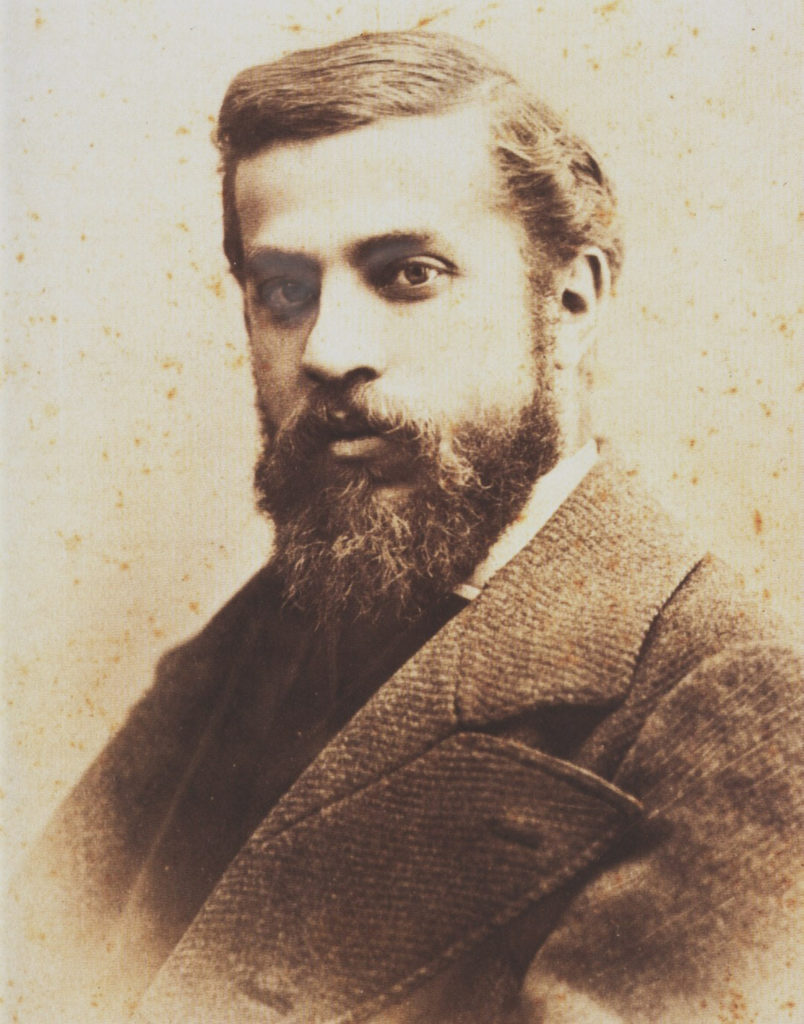 Portrait of Antoni Gaudí. Private Collection. Courtesy of Fine Art Images/Heritage Images/Getty Images.