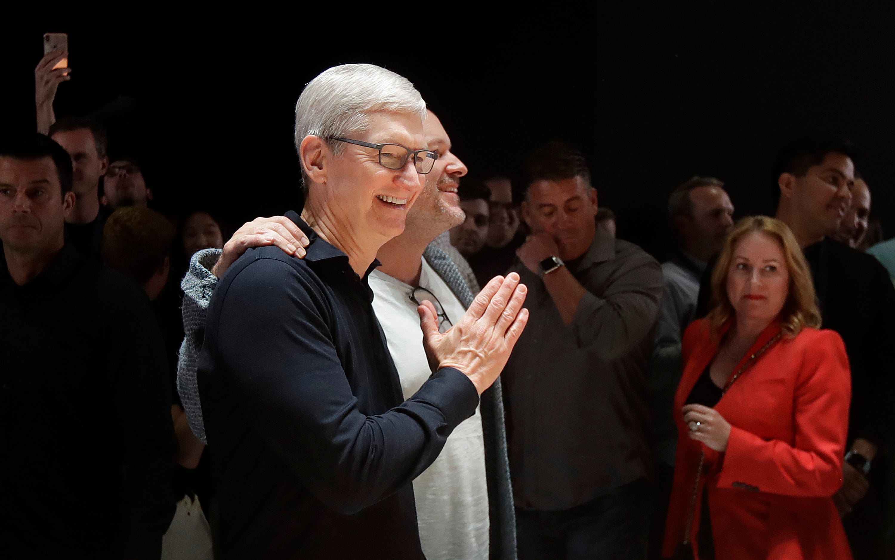 Apple CEO Tim Cook questions claims his company is a monopoly