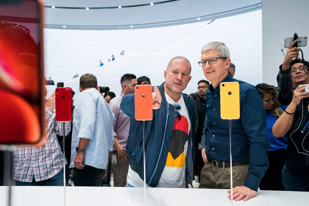 Apple design chief Jony Ive is leaving Apple to form his own company