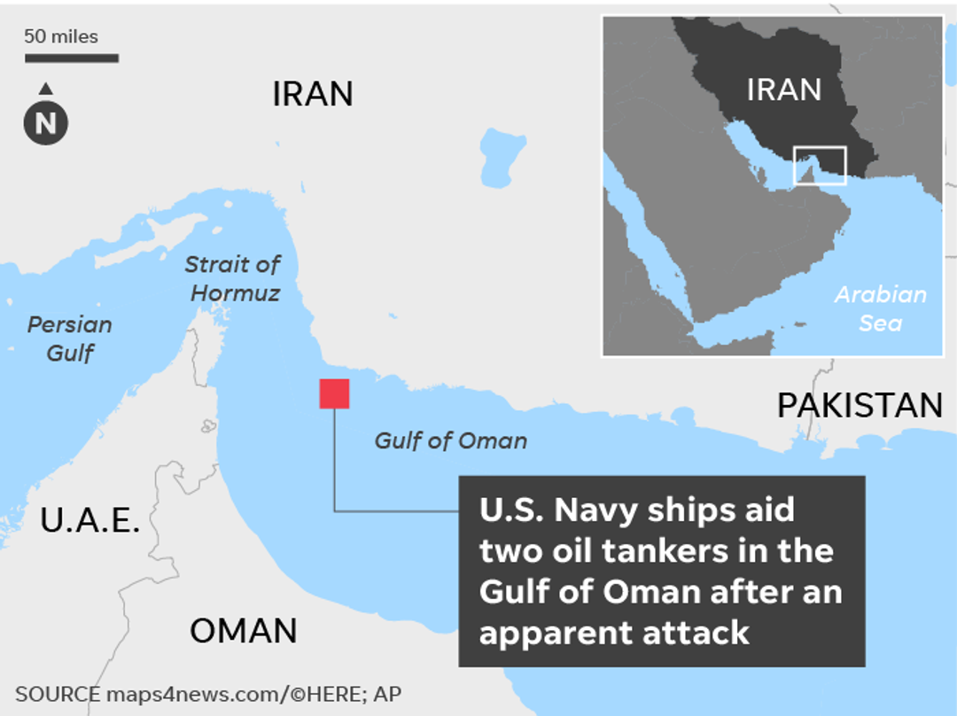 Attack from Iran in Strait of Hormuz is risk to oil, says think tank