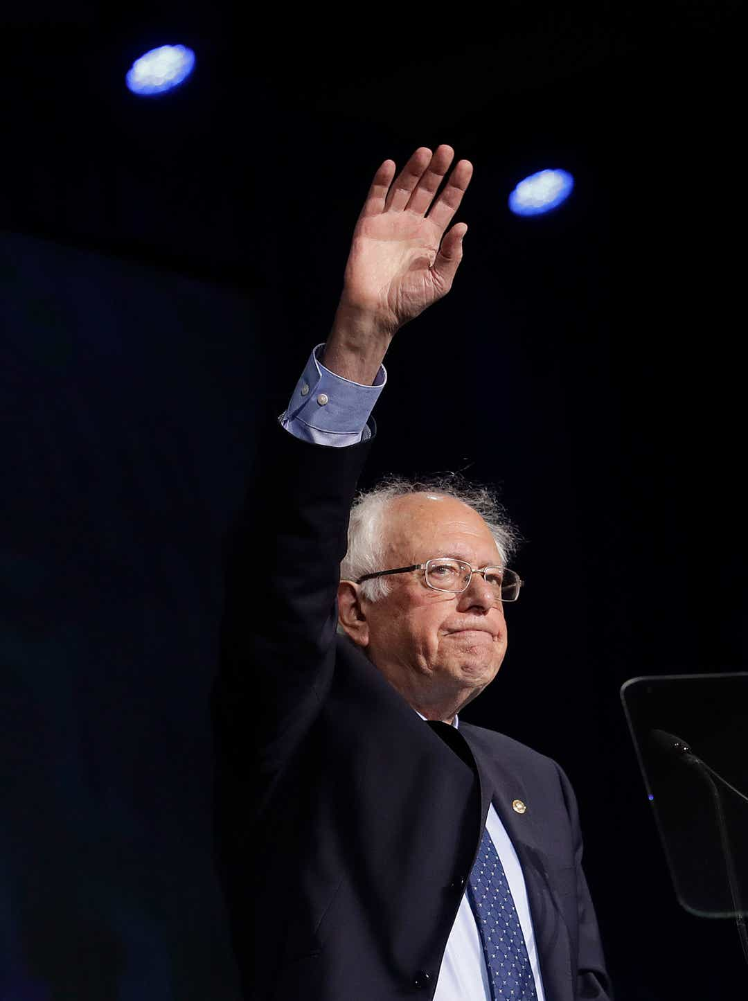 Bernie Sanders calls Walmart minimum wage 'grotesque' and 'absurd'