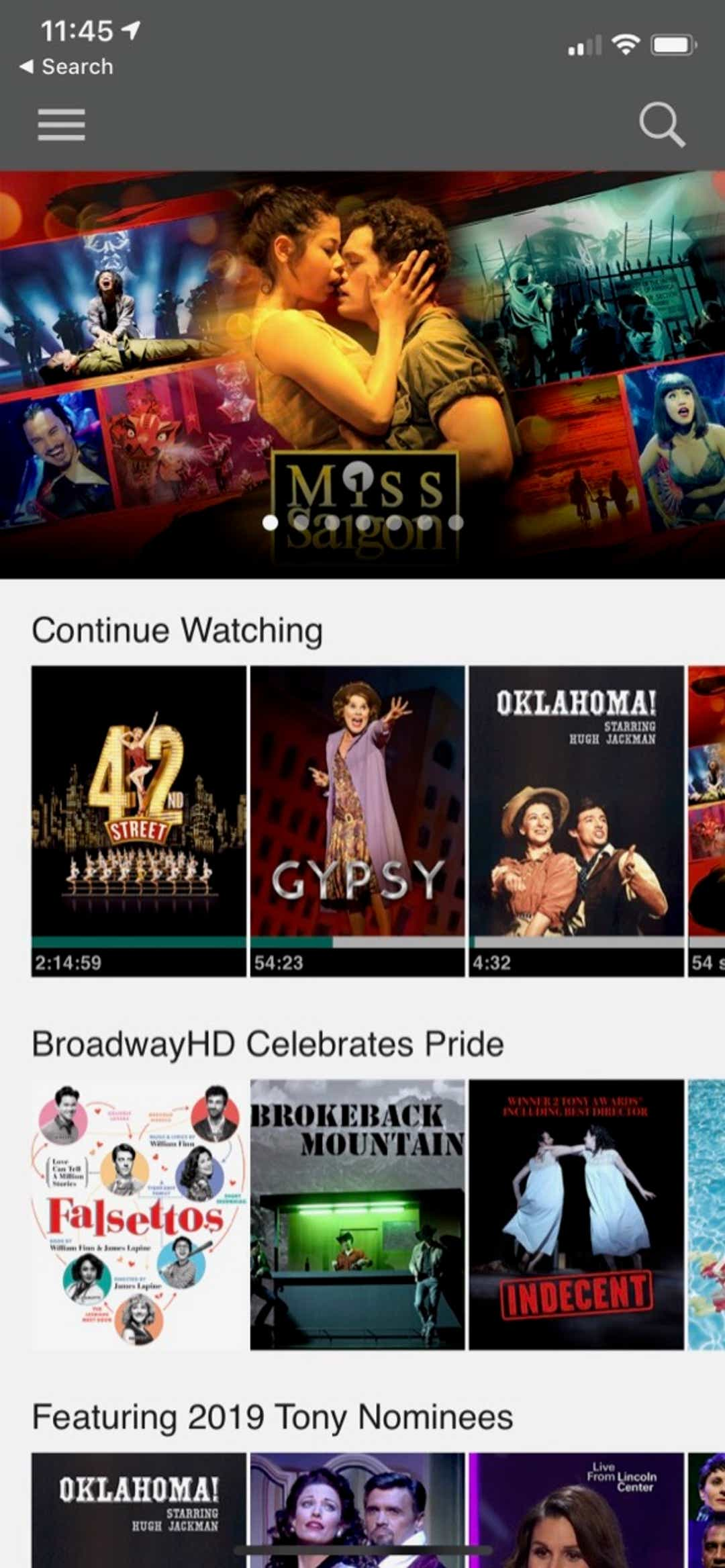 BroadwayHD lets you stream shows when you can't get to theater