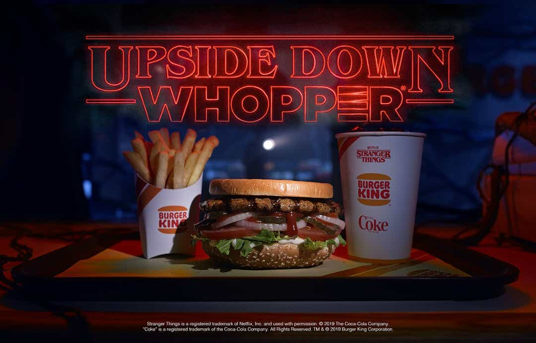 Burger King partners with Stranger Things