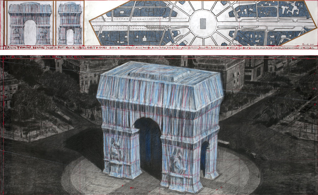 Christo Delays His Plans to Wrap the Arc de Triomphe to Protect Nesting Birds + Other Stories