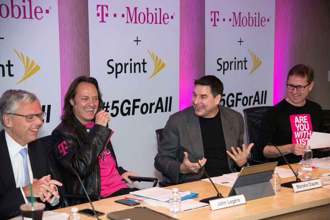 Clear wireless Sprint merger with T-Mobile. Lawsuit on the wrong side.