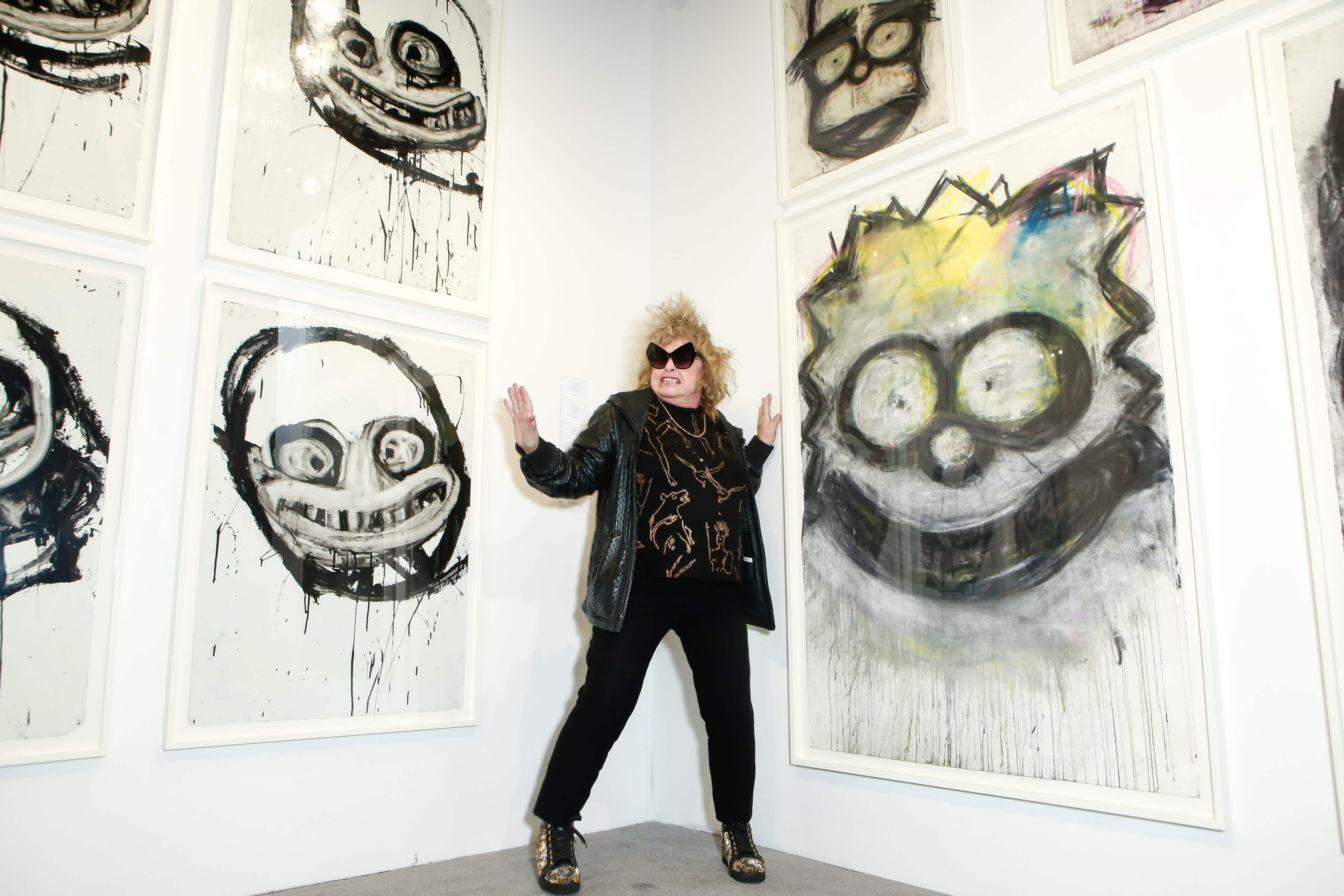 From Seth Rogen's New Art Career to the Death of Pop Painter Joyce Pensato: The Best and Worst of the Art World This Week