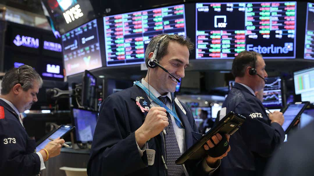 How are stocks doing? Strong but trade deal needed