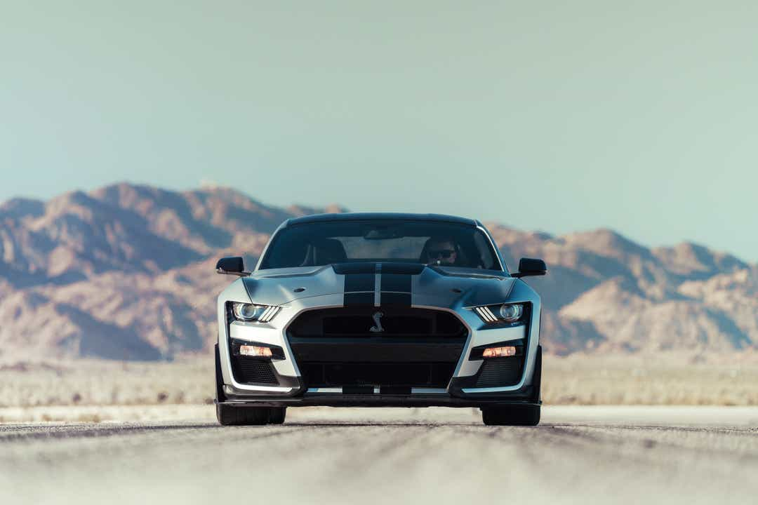 Photos of the car as hot as 2020 Shelby GT500