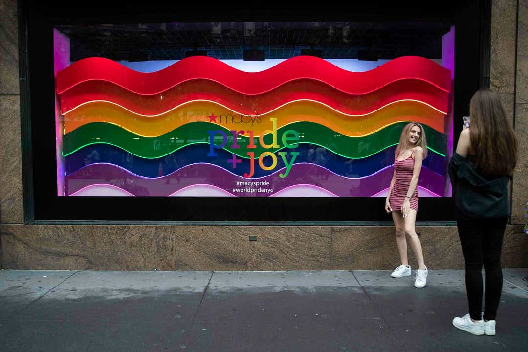 Retailers run LGBTQ marketing for sales, branding