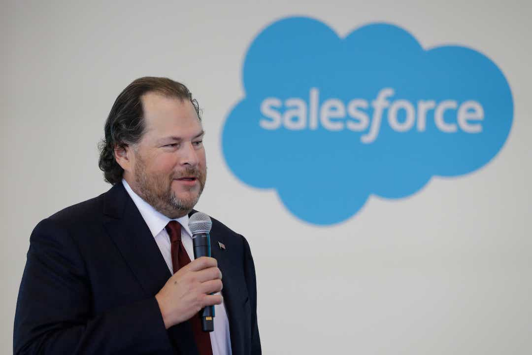 Salesforce to acquire data platform Tableau Software in all-stock deal