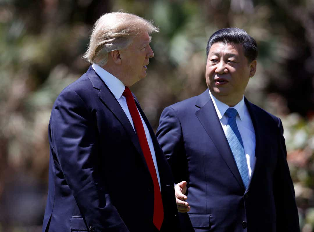Stocks jump as Trump tweets of plans to meet with China president