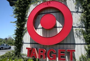 Target stock price down after company-wide cash register outage