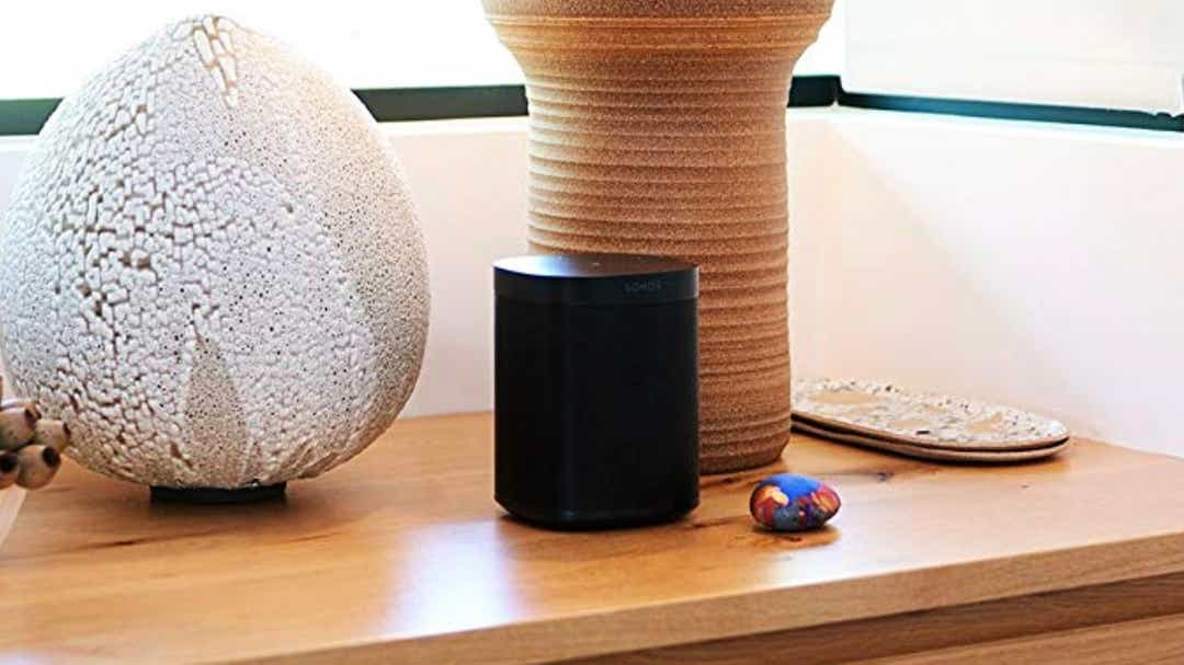 The Sonos One speaker is rarely on sale, but right now it's at its lowest price ever