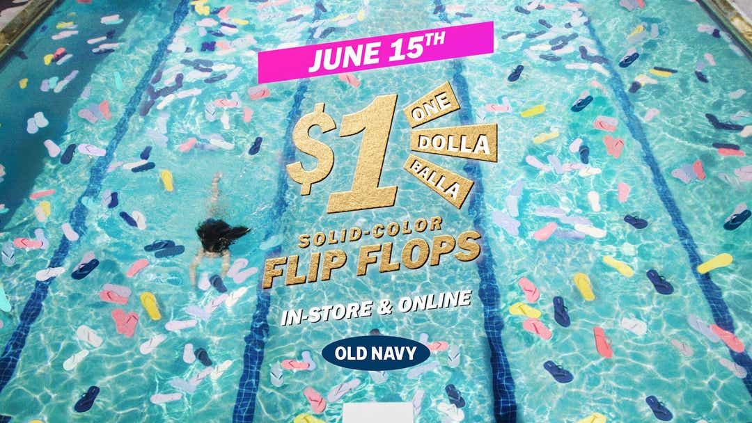 The annual $1 sale is June 15 in-store and online