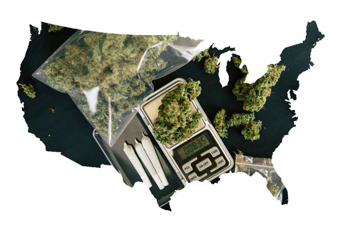 The next states that are likely to legalize marijuana.