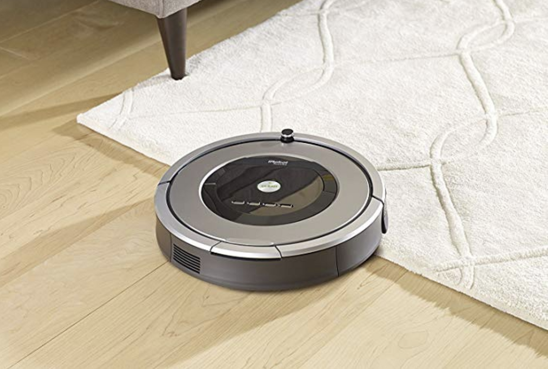 This top-rated iRobot Roomba 860 robot vacuum is at its lowest price—for today only