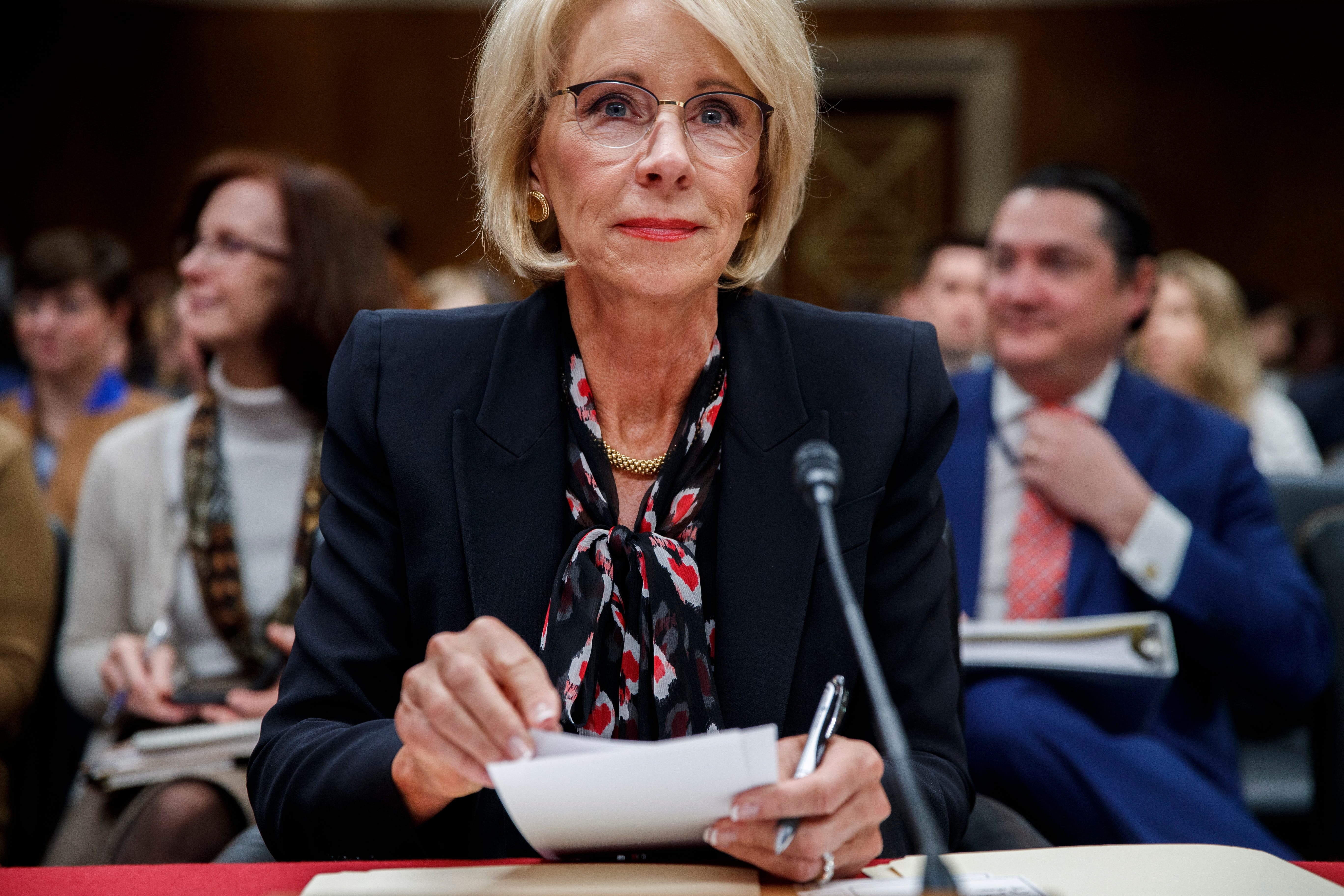 Trump Department of Education, Devos remove gainful employment rule