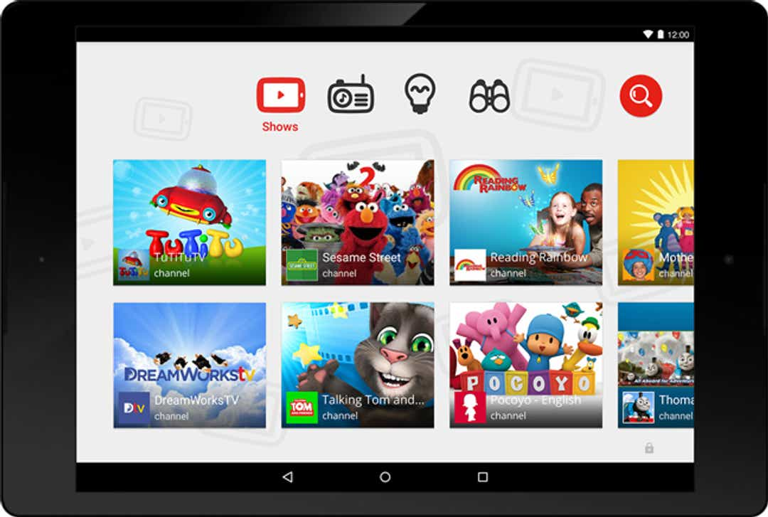 YouTube may try to solve kids issues by pushing videos to YT Kids app